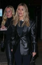 Sofia Richie Leaving Matsuhisa restaurant in Beverly Hills
