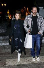 Sofia Richie Out in Aspen with Scott Disick