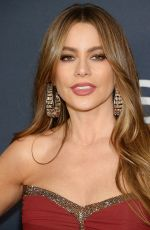 Sofia Vergara At 2020 InStyle and Warner Bros Golden Globes Party at the Beverly Hilton Hotel in Beverly Hills