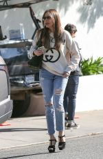 Sofia Vergara Shops for a new apartment in West Hollywood