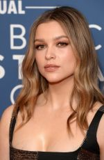 Sophie Cookson At Newport Beach Film Festival UK Honours 2020 in London