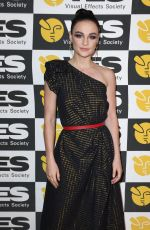 Sophie Skelton At 18th Annual Visual Effects Society Awards in Beverly Hills