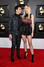 Sophie Turner At 62nd Annual GRAMMY Awards in Los Angeles