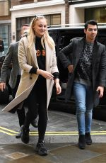 Sophie Turner & Joe Jonas Out in London