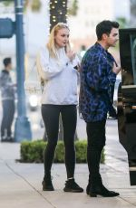 Sophie Turner Leaving her hotel in Beverly Hills