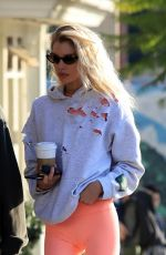 """Stella Maxwell At """"Papped"""" Los Angeles"""
