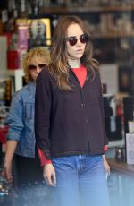 Suki Waterhouse Shops at the Candle Delirium store in West Hollywood
