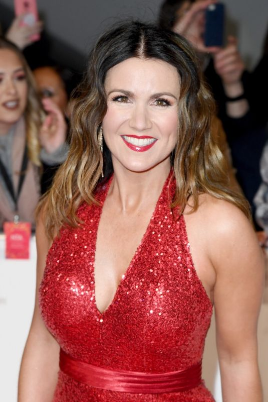 Susanna Reid At National Television Awards 2020 at The O2 Arena in London