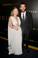 Sydney Sweeney At Amazon Studios Golden Globes After Party in Beverly HIlls