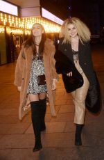 Tallia Storm and Emily Canham Leaving Top Gear Series 28 TV Premiere in London