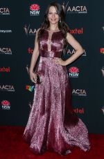 Tammin Sursok Arrives at the 9th Annual Australian Academy Of Cinema And Television Arts (AACTA) International Awards, Los Angeles