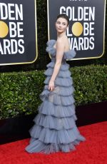Thomasin McKenzie At 77th Annual Golden Globe Awards in Beverly Hills