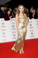 Tilly Keeper At National Television Awards 2020 in London