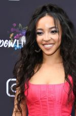Tinashe At Instagram + Facebook Women in Music Luncheon in West Hollywood