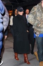 Vanessa Hudgens Arriving at Madison Square Garden in NYC