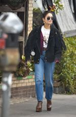Vanessa Hudgens Joined by a friend for breakfast at All Times in Los Feliz