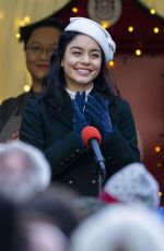 Vanessa Hudgens On the Set of The Princess Switch: Switched Again in Edinburgh