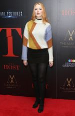 Victoria Clay At London Premiere of The Host at The May Fair Hotel