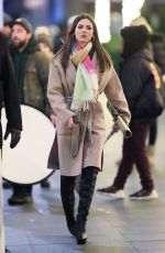 Victoria Justice On the set of