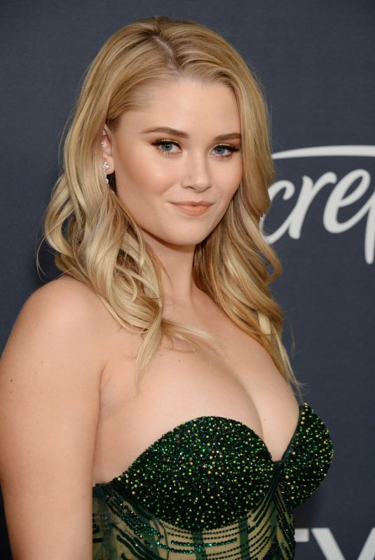 Virginia Gardner At 21st Annual Warner Bros. And InStyle Golden Globe After Party in Beverly Hills