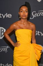Yara Shahidi At Warner Bros. & InStyle Golden Globe After Party in Beverly Hills