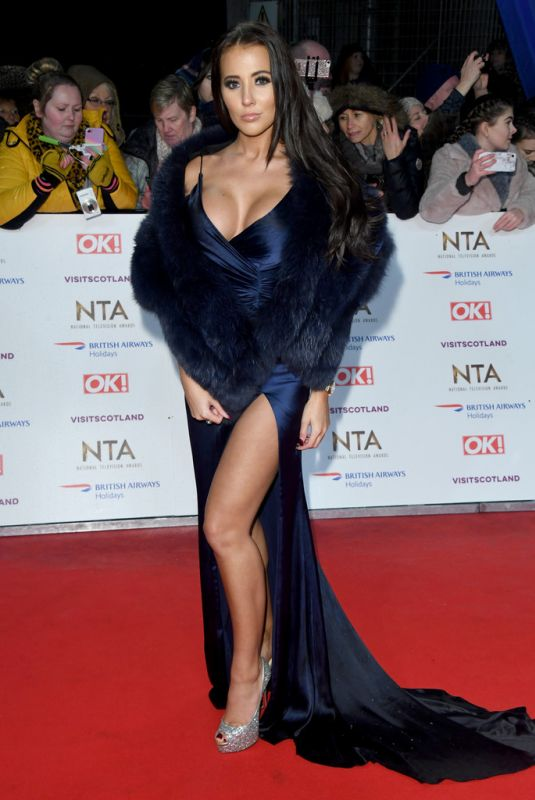Yazmin Oukhellou At National Television Awards 2020 in London