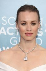 Yvonne Strahovski Attends the 26th annual screen actors guild awards in Los Angeles