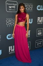 Zendaya At 25th Annual Critics Choice Awards in Santa Monica