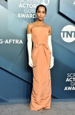 Zoe Kravitz At 26th Annual Screen Actors Guild Awards at the Shrine Auditorium in Los Angeles