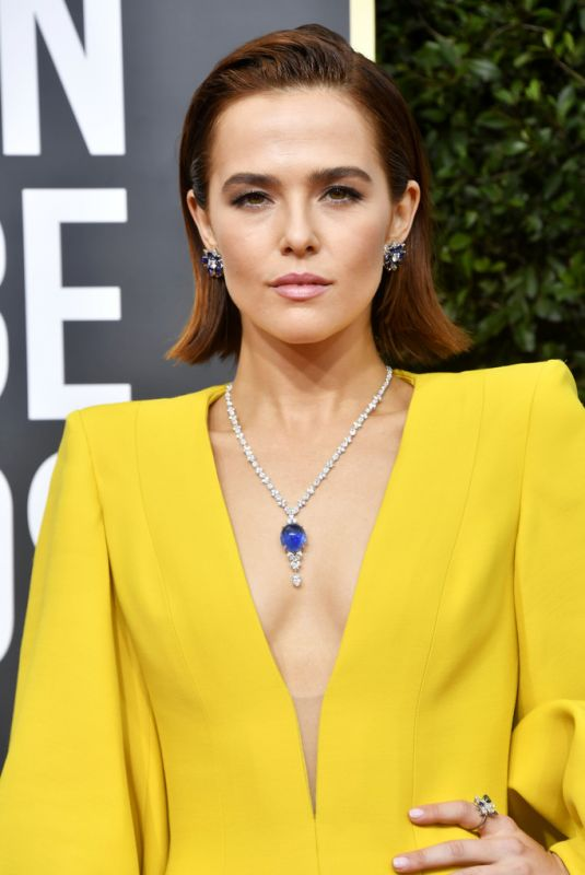 Zoey Deutch At 77th Annual Golden Globe Awards in Beverly Hills
