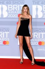 Abbey Clancy At The BRIT Awards 2020 in London