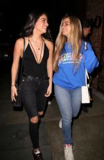 Addison Rae Was seen out in Hollywood with friends