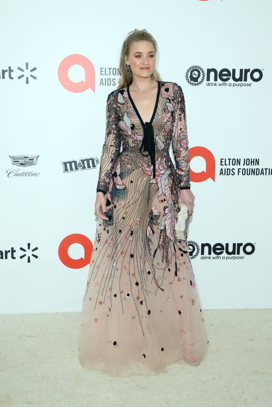 AJ Michalka At 28th Annual Elton John AIDS Foundation Academy Awards Viewing Party sponsored by IMDb, Neuro Drinks and Walmart in West Hollywood