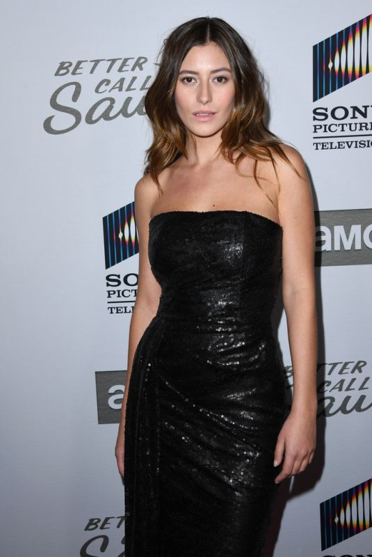 "Alejandra Guilmant At ""Better Call Saul"" Season 5 premiere in Hollywood"
