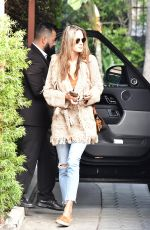 Alessandra Ambrosio Arrives for a meeting in Beverly Hills