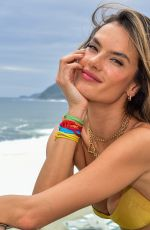 Alessandra Ambrosio At Carnaval celebration hosted by GAL Floripa in Rio de Janeiro