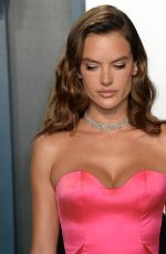 Alessandra Ambrosio Attends the 2020 Vanity Fair Oscar Party in Beverly Hills