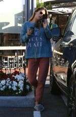 Alessandra Ambrosio Out grabbing coffee at Sunlife Organics in Pacific Palisades