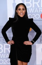 Alex Scott At 40th Brit Awards, The O2 Arena, London