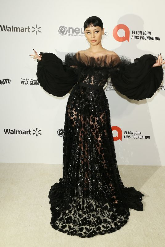 Alexa Demie At 28th Annual Elton John AIDS Foundation Academy Awards Viewing Party sponsored by IMDb, Neuro Drinks and Walmart in West Hollywood
