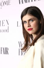 Alexandra Daddario At Vanity Fair and Lancome Women in Hollywood Celebration in West Hollywood