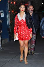 Alexandra Shipp Is a chic beauty while out in NYC