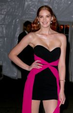 Alexina Graham Arrives at the Amfar Gala in New York City