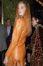 Alexina Graham Arrives for the L