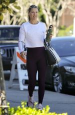 Ali Larter Heads to a gym session in Los Angeles