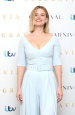 Alice Eve At Belgravia Photocall in London