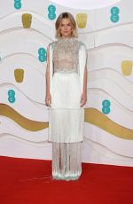 Alice Eve At EE British Academy Film Awards in London