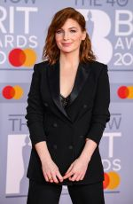 Alice Levine At 40th Brit Awards, The O2 Arena, London