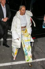 Alicia Keys Seen at NRJ radio station in Paris