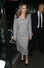 Alicia Silverstone Arrives at the Christian Siriano show in NYC